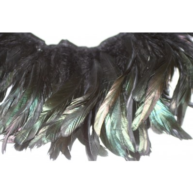6-8inch Coque Feather Fringe