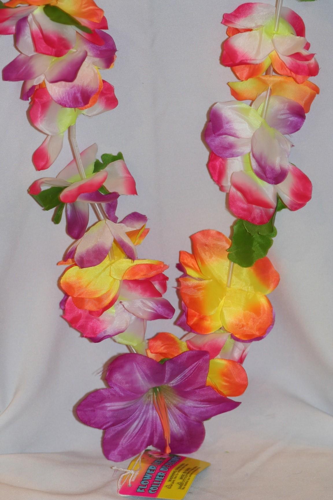 Delux flower lei