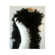 Feather Boa Chandelle Black