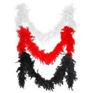 Feather Boa Chandelle budget all colours