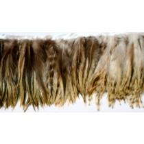 yellow badger Feather Fringe