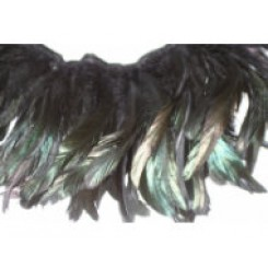 12-14inch Coque Feather Fringe