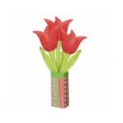 Balloon Bouquet Red Tulip