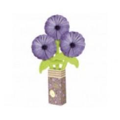 Balloon Bouquet lilac daisy