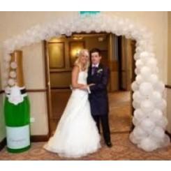 Balloon Champagne Display