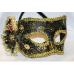 Black gold eye mask em290
