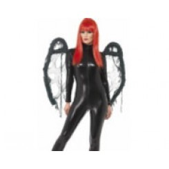 black gothic wings
