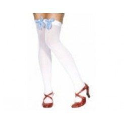 thigh high stockings with bow