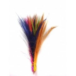 Dyed Peacock feather sword all colours