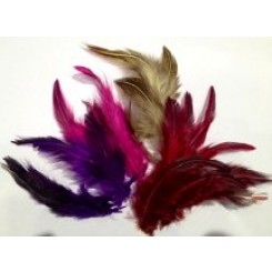 Dyed Jungle Cock Feathers