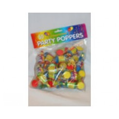 Party poppers large bag 50