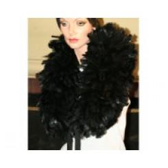 Massive deluxe 450g Black Feather Boa