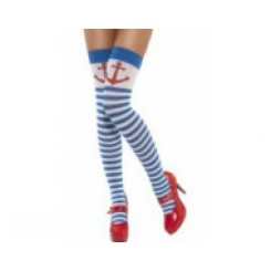 thigh high stockings sailor