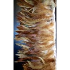 red schlappen feather fringe
