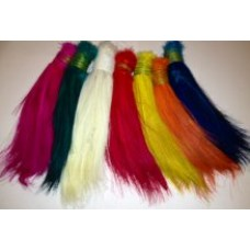 10x dyed heron feathers