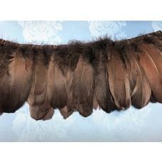 swan fringe dyde brown