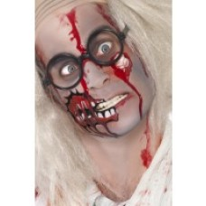 zombie make up set with scar