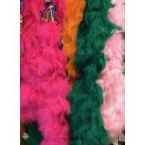 massive 180g marabou feather boa
